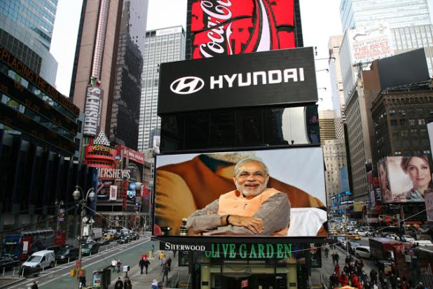 Modi's-Speech-Will-be-Live-on-New-York's-Times-Square