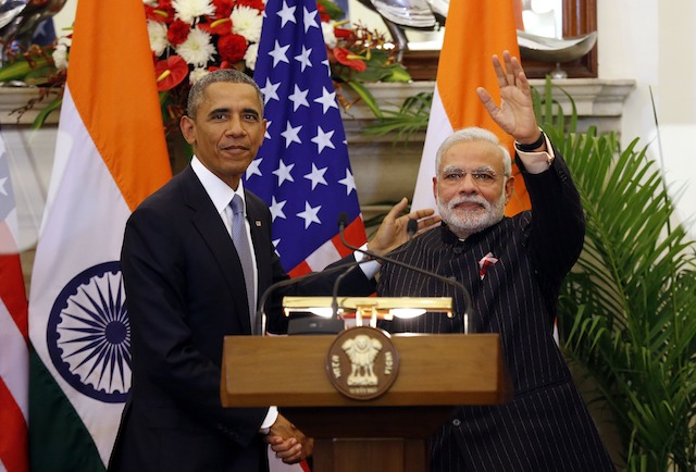 US President Barack Obama in India