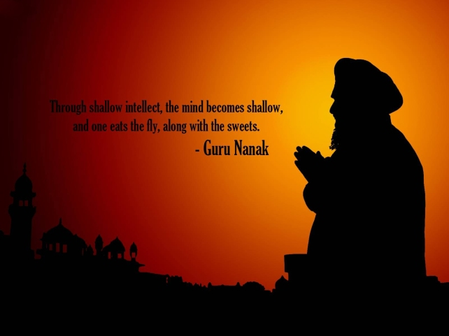 Guru Nanak Ji Quotes HD Wallpapers