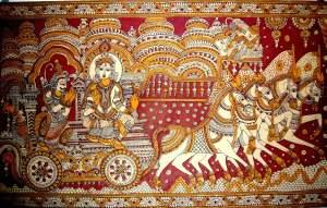 Gita-kalamkari-painting