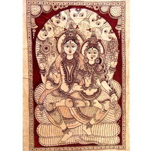 kalamkari-painting-vishnu-n-consort-25