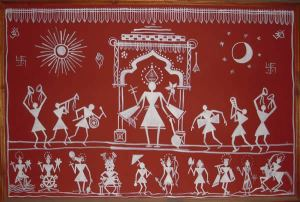 Warli Painting Artist in pune