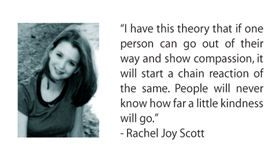 Rachel joy scott essay