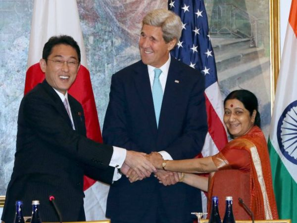 India-Japan-USA Trilateral meet